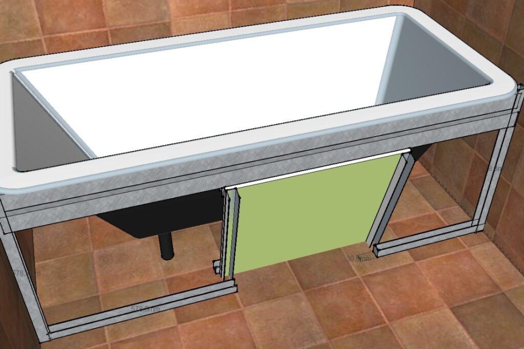 Как правильно выбрать профиль для установки ванны?
